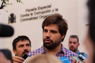 Gonzalo Sánchez Toscano ante la Fiscalía