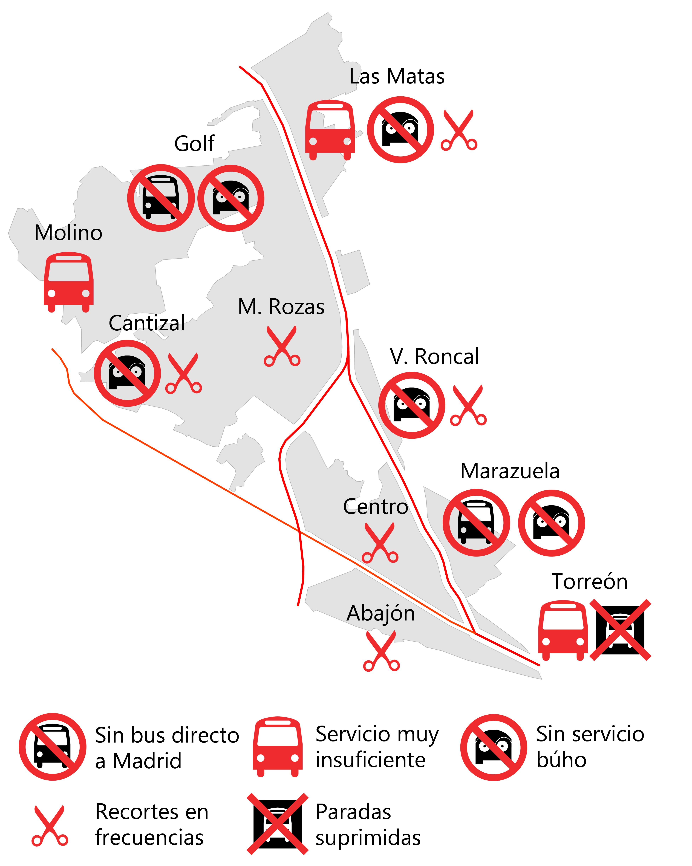 El transporte público también es calidad de vida