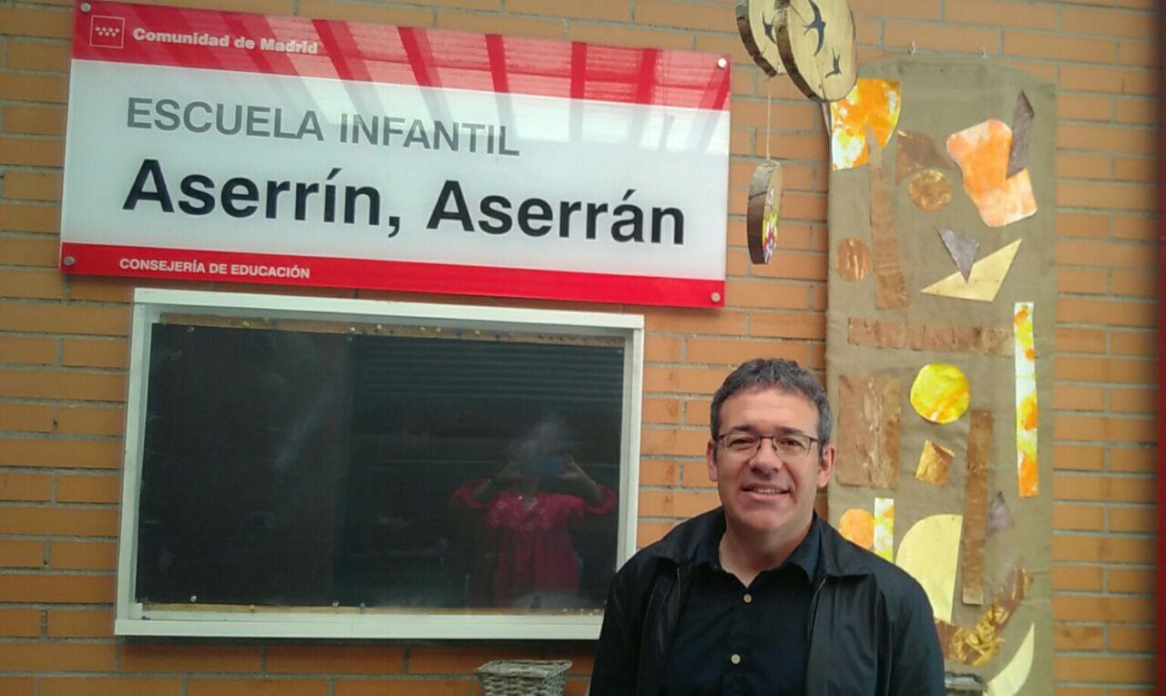 Valentín en la Escuela Infantil Azsserrin