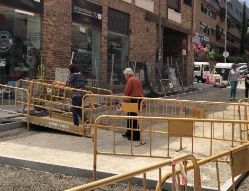 Contigo pedirá una línea de ayudas económicas para los pequeños comerciantes afectados por la remodelación de la Calle Real