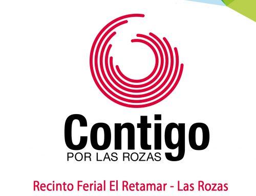 Programación de la Caseta de Contigo en Las Fiestas de Las Rozas 2018