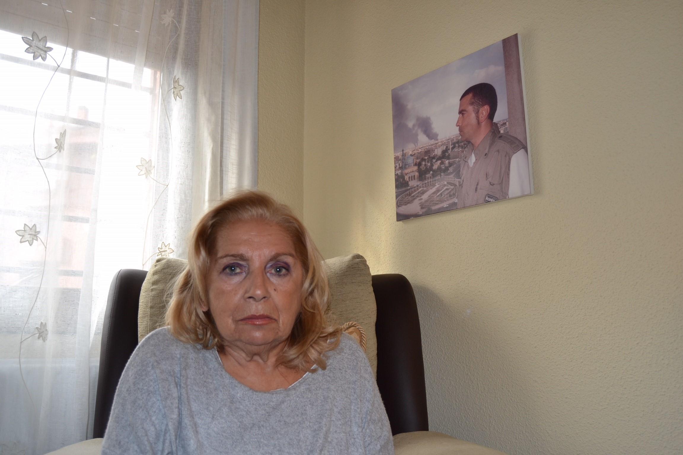 """Maribel Permuy,  madre de José Couso: """"Mi hijo merece un homenaje aquí donde vivió"""""""