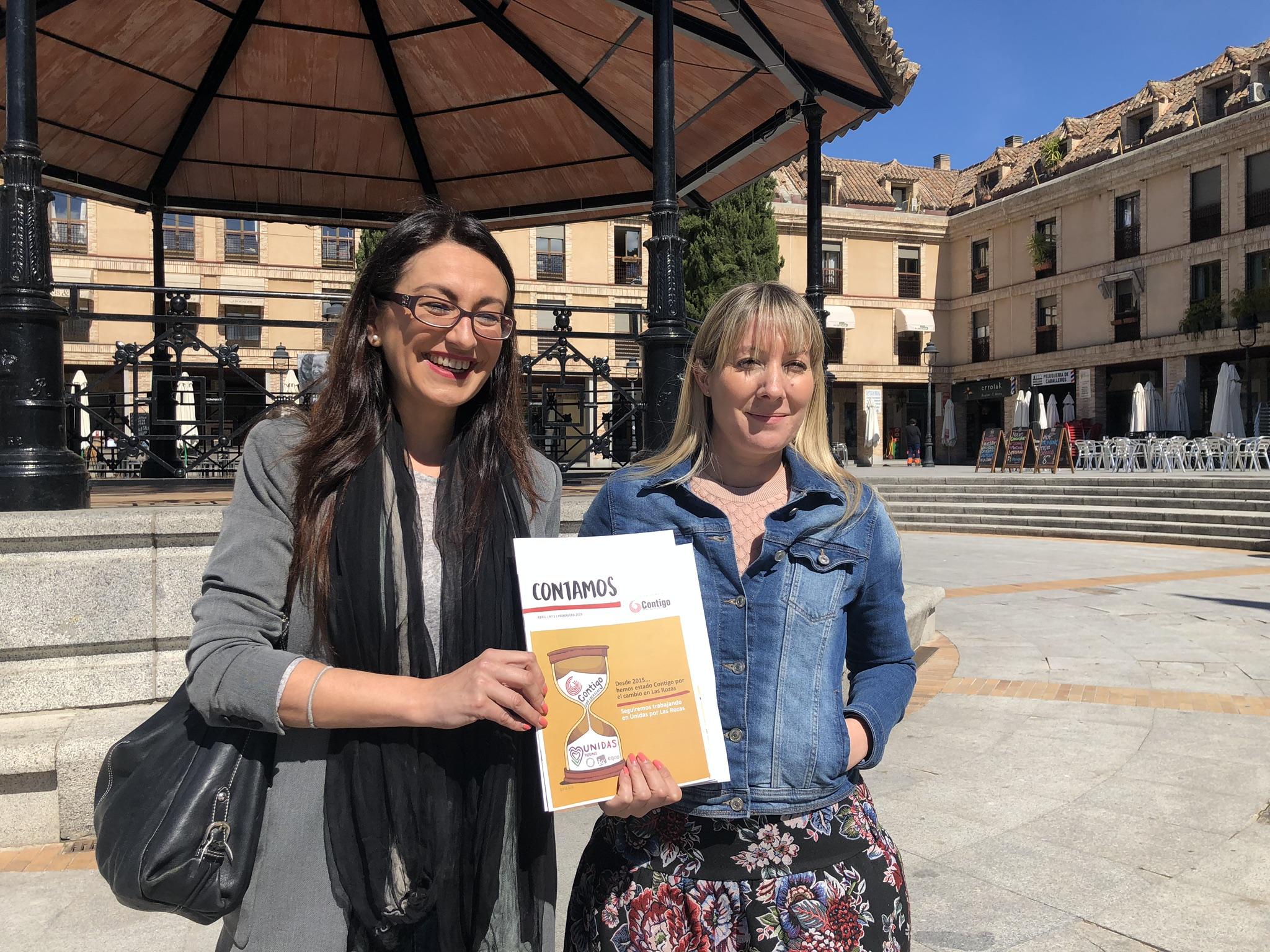 Sol Sanchez y Patricia García denuncian la alianza electoral de Actúa con los usurpadores de la marca electoral de Contigo por Las Rozas